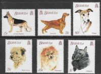Bermuda SG655-660 1992 7th World Congress of Kennel Clubs set 6v complete unmounted mint